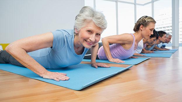 yoga eldery